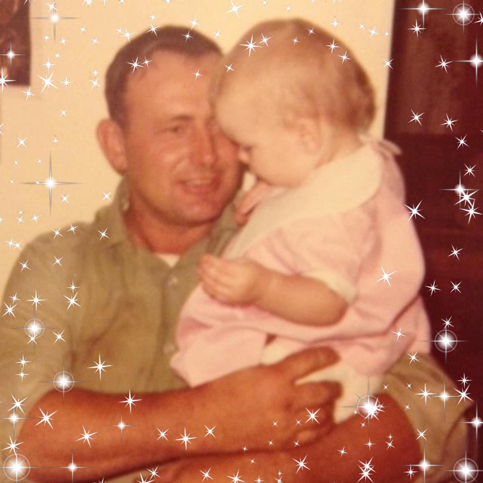 Peggy with her dad, Jim